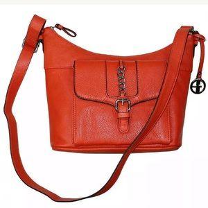 Giani Bernini Leather  Hobo Shoulder Bag Purse